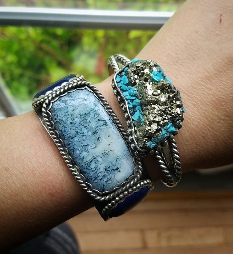 Cuffs handmade Etsy shop Unique - eclecticblingjewelry   ello