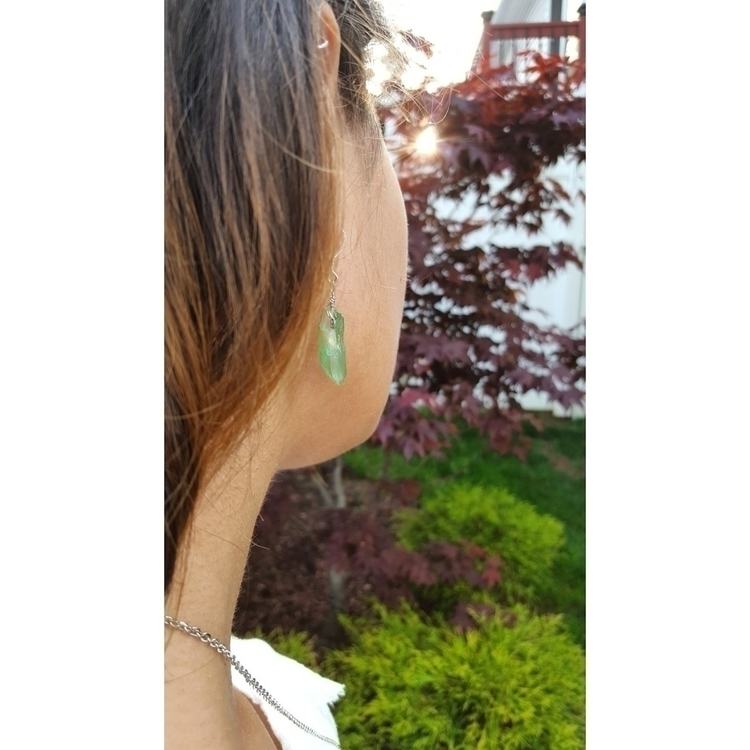 Apple Aura Quartz Earrings! Swo - mindseyemagik | ello
