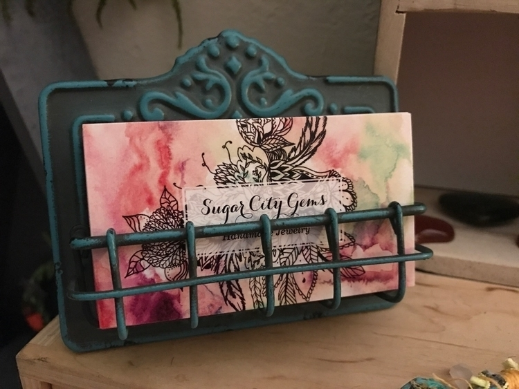 Love business card holder! wait - sugarcitygems | ello