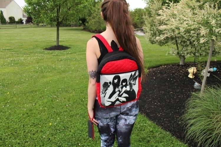 Custom canvas quilted backpack  - hippiestones | ello