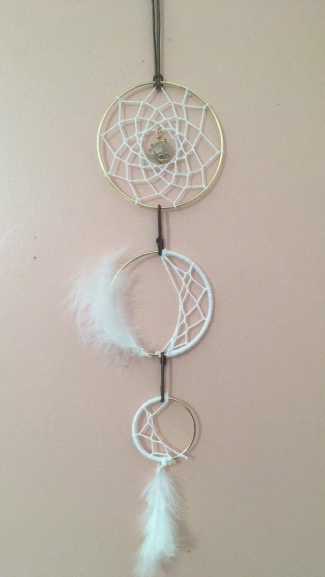 moon phase Dreamcatcher design - crystalsandkitties | ello