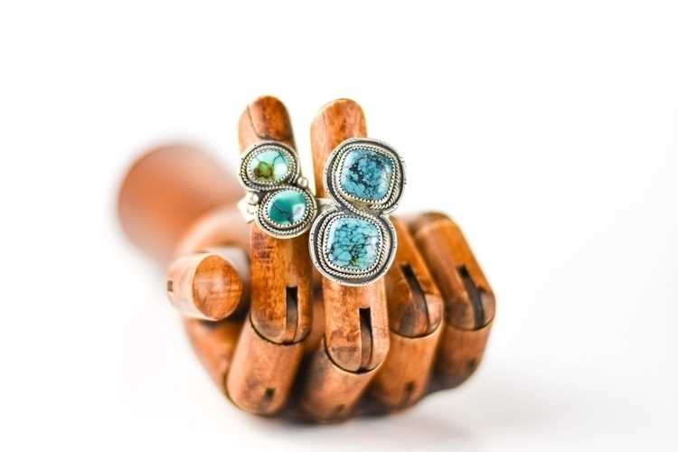 Handcrafted turquoise rings - mountainside_designs | ello
