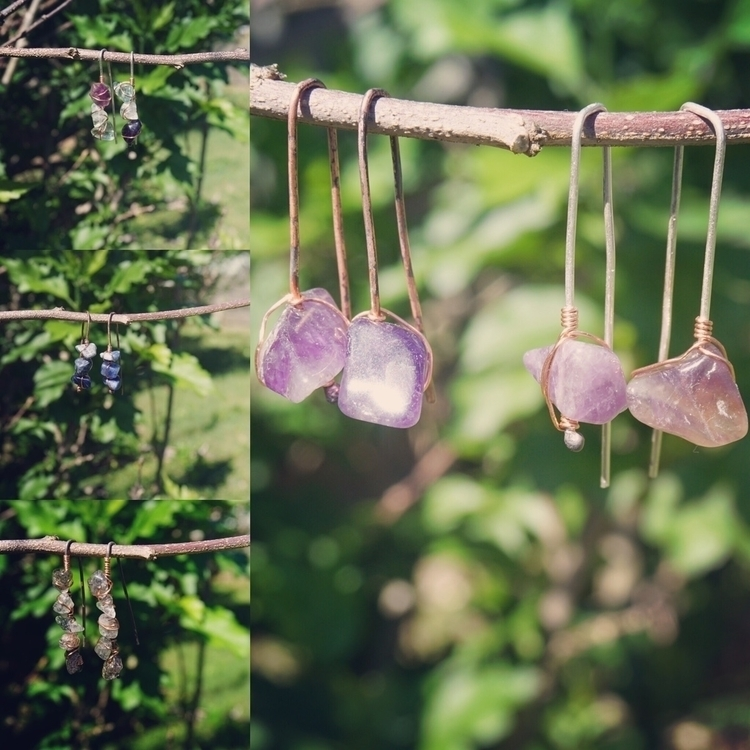 Simple earwires copper sterling - zombiebaby | ello