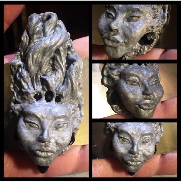 Experiments face sculpting - wildlingcollection - aestheticambrosia | ello