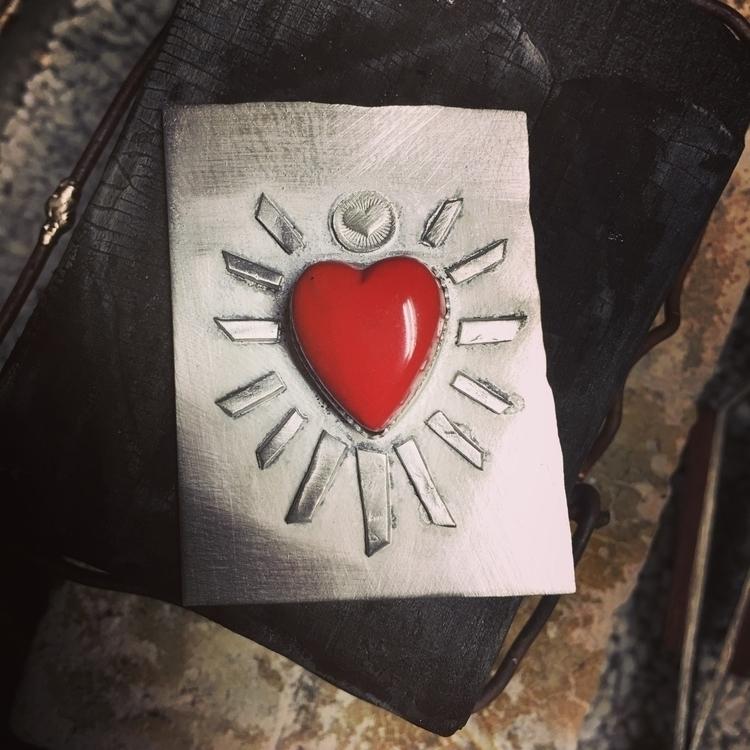 post :heart:️ drawn sacred hear - thejewelersapprentis | ello