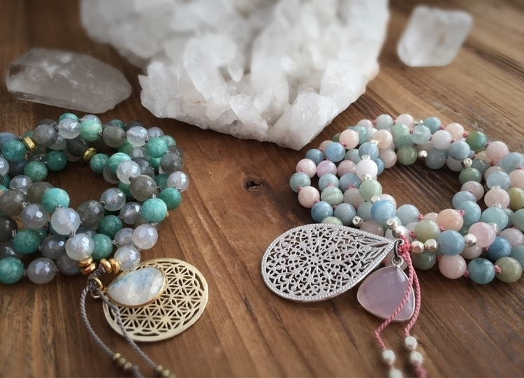 Handmade Mala Prayer Beads Reik - anapoenergy | ello