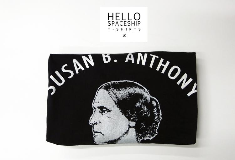 Susan Anthony Fight rights equa - hellospaceship | ello