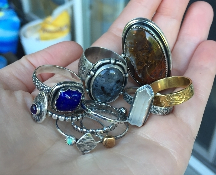Time social media! rings shop - twocatsjewelry | ello