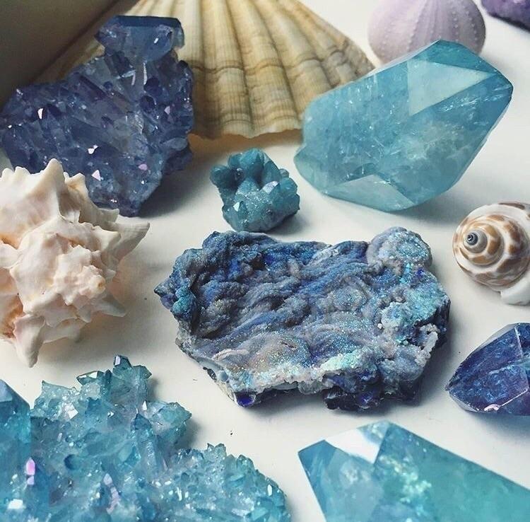love sea shells crystals - beach - midnightauracrystals | ello