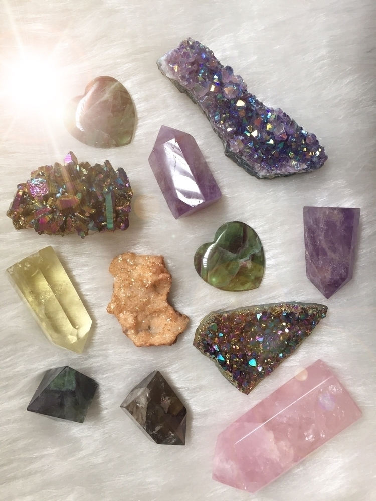 crystals - rosequartz, ellocrystals - crystalmonkeyjewelry | ello