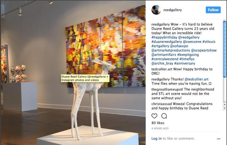 Duane Reed Gallery 23 years tod - duanereedgallery | ello