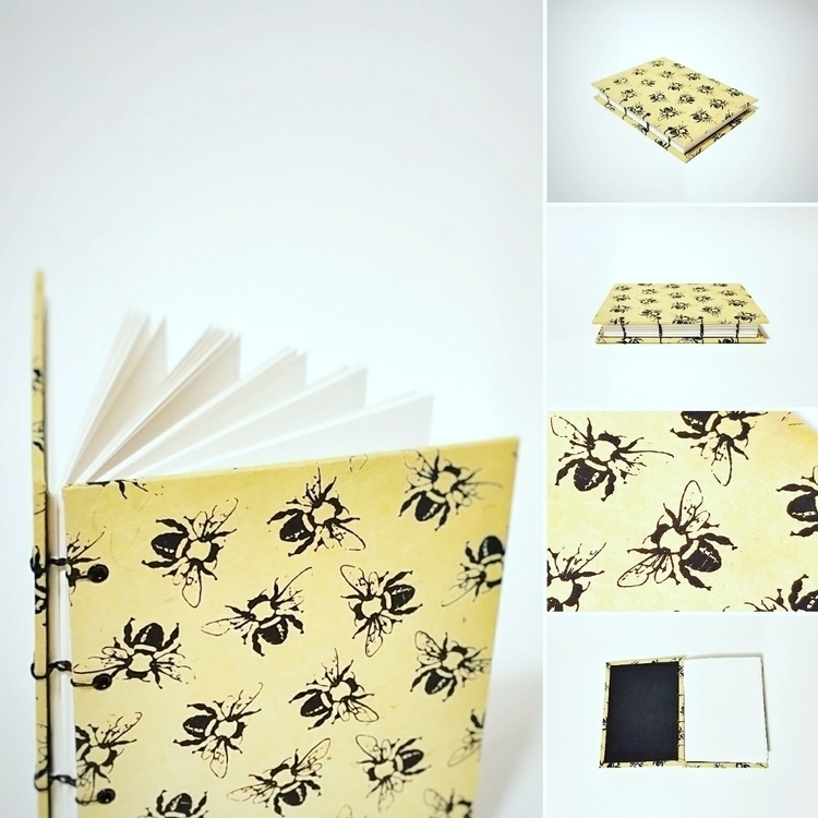 bee journal! blank, lined, dot  - colifichets | ello