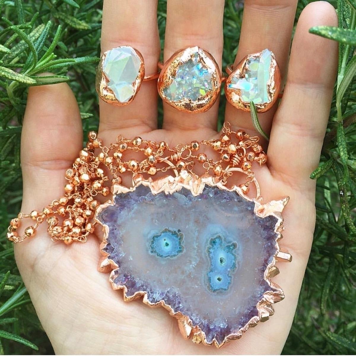 angelaura, stalactite, electroforming - wingostarrjewelry | ello