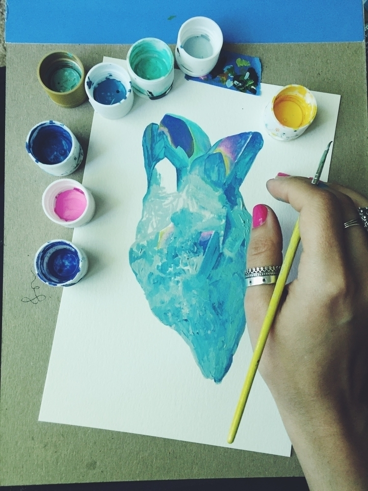 Starting blue angel aura quartz - valeriaprieto | ello
