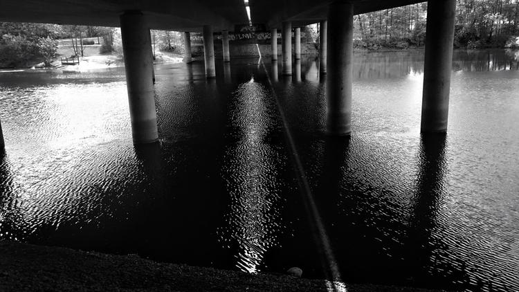 SunLine, darkness - sun, line, bridge - yogiwod | ello