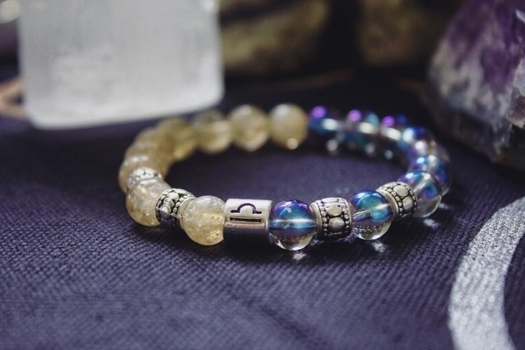 Custom Libra bracelet! adore bl - wildkrystals | ello