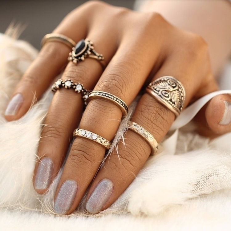 NYMPHADORAE Ring Set faves soft - moonlitcreatures | ello