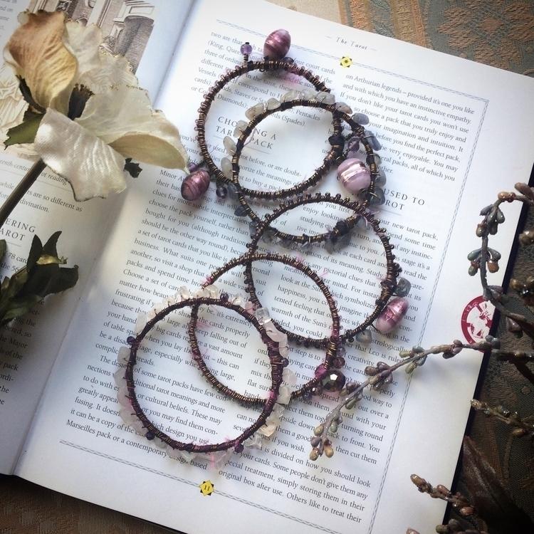 Full photo purple gypsy bangle  - amilliadesigns | ello