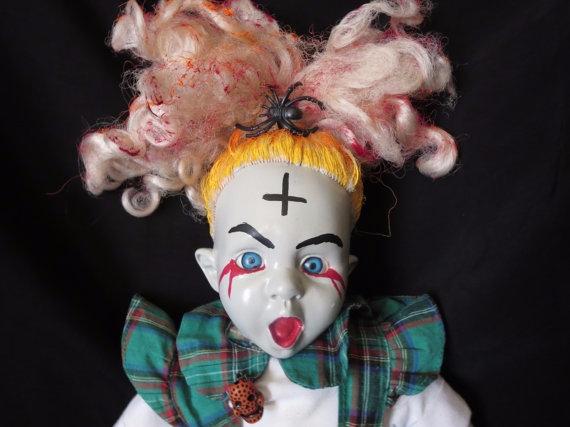 Screaming Sadie! dolls face cre - daisygamble   ello
