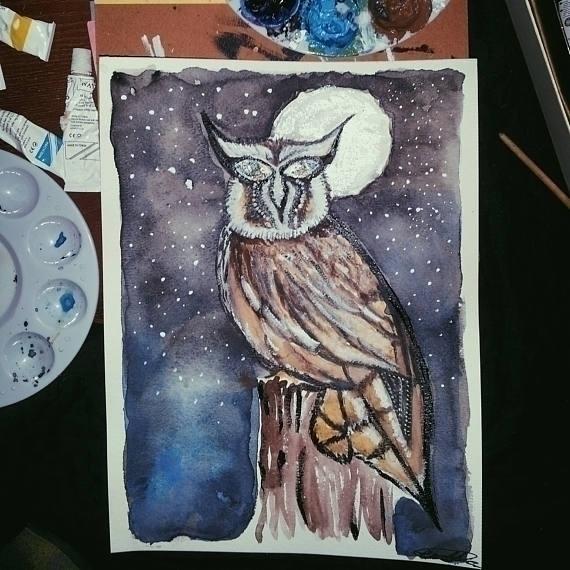 Labradorite Owl eyes 9 12 Water - mintroyaleshop | ello