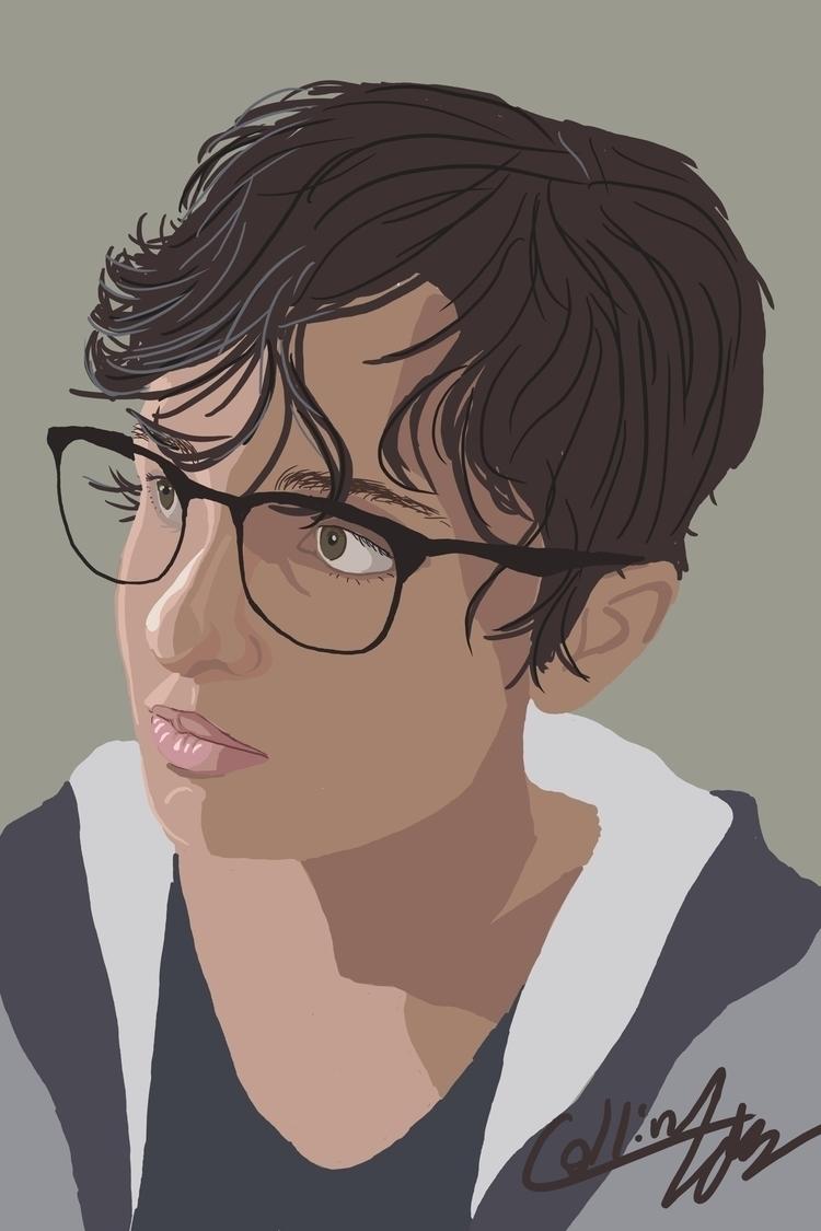 digital portrait - art, artist, artwork - sketch_study | ello
