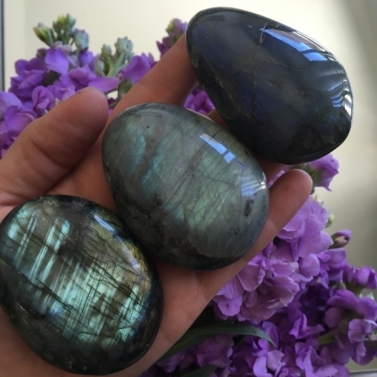 :sparkles::sparkles:Palm Stones - mooncatcrystals | ello
