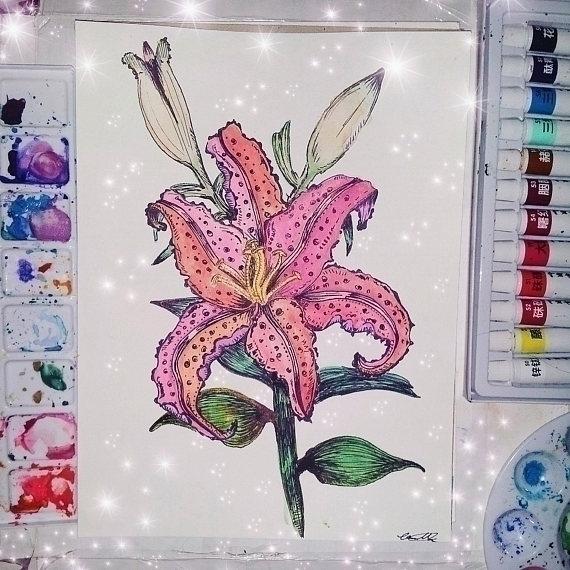 taught Artist loves paint creat - mintroyaleshop | ello
