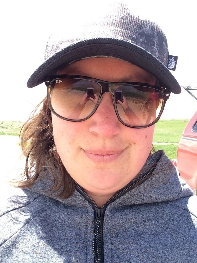 rare selfie! Adrienne woman tin - tinyhabitats | ello