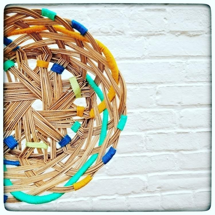 adorned vibrant yarn - vintage, thrifted - darlingweavings | ello
