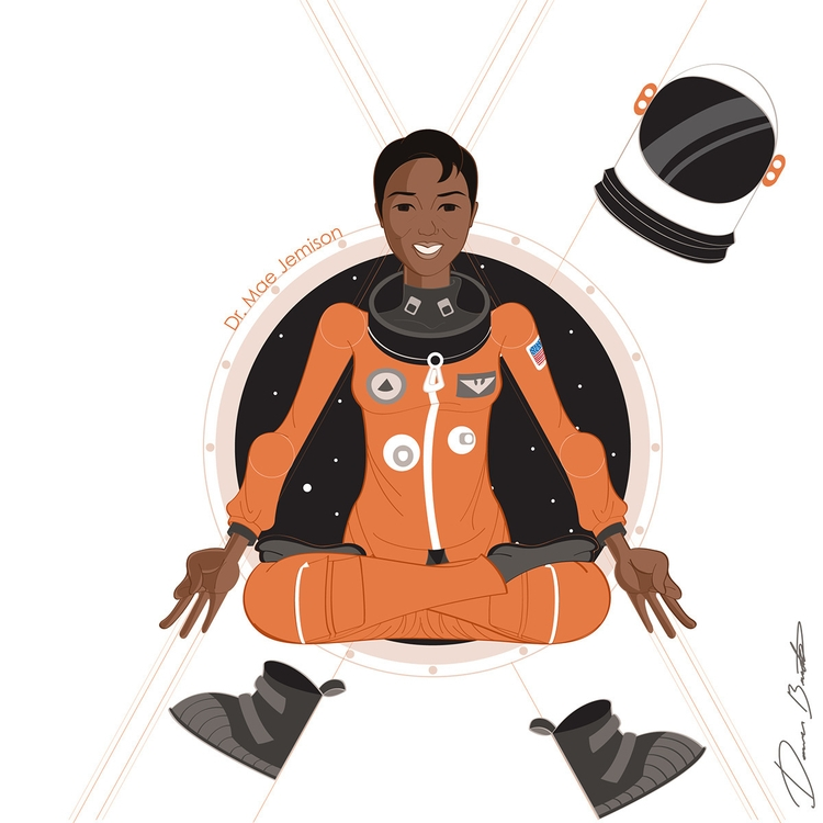 Dr. Mae Jemison Black woman tra - donavonmadethat | ello