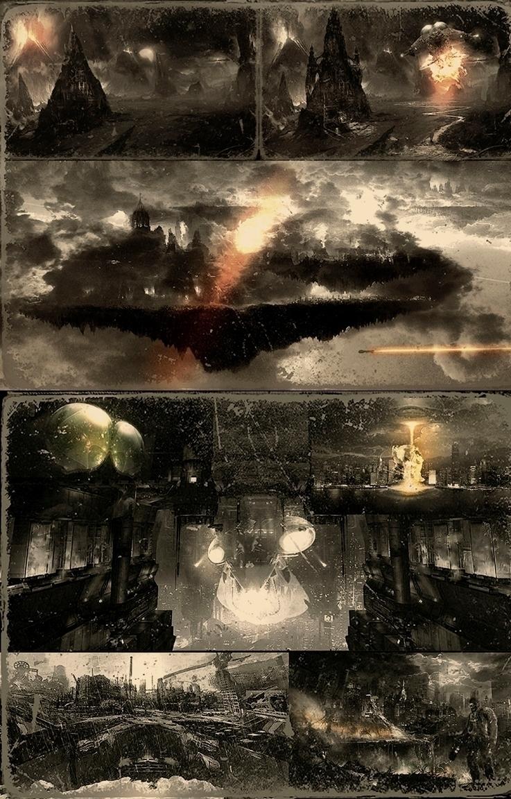 Exodus / Cities Dr Clockheart  - alanbrooksart   ello