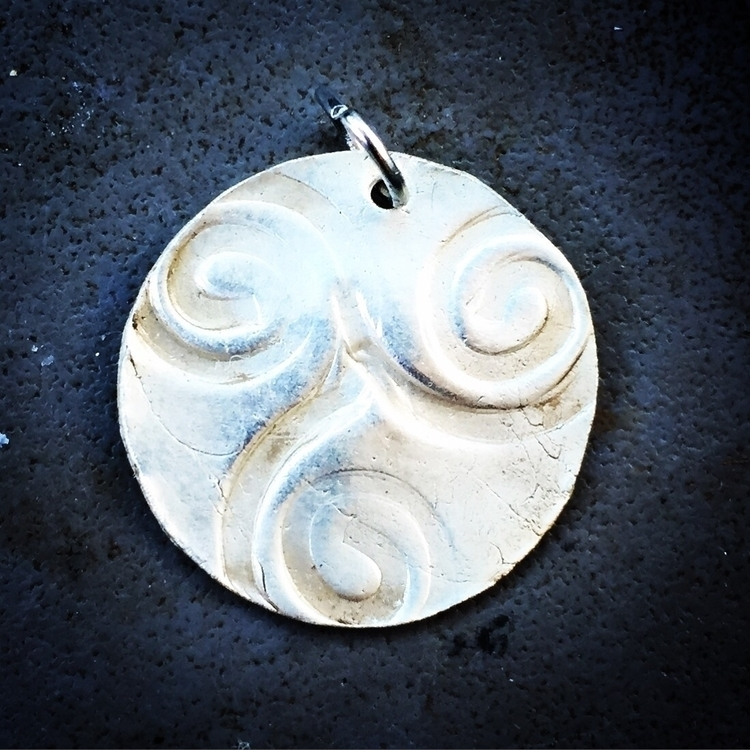 printing pmc fine silver ... ha - herbs_stones_bones | ello