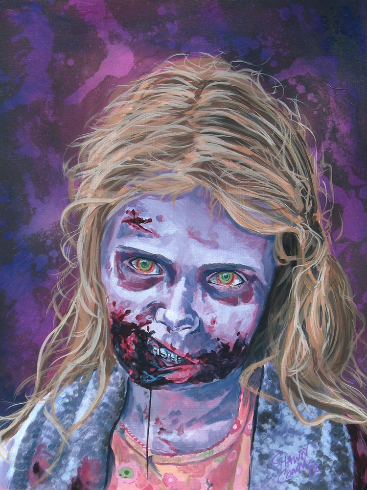 zombies, horrorartist, horrorart - shawnconn-8645 | ello