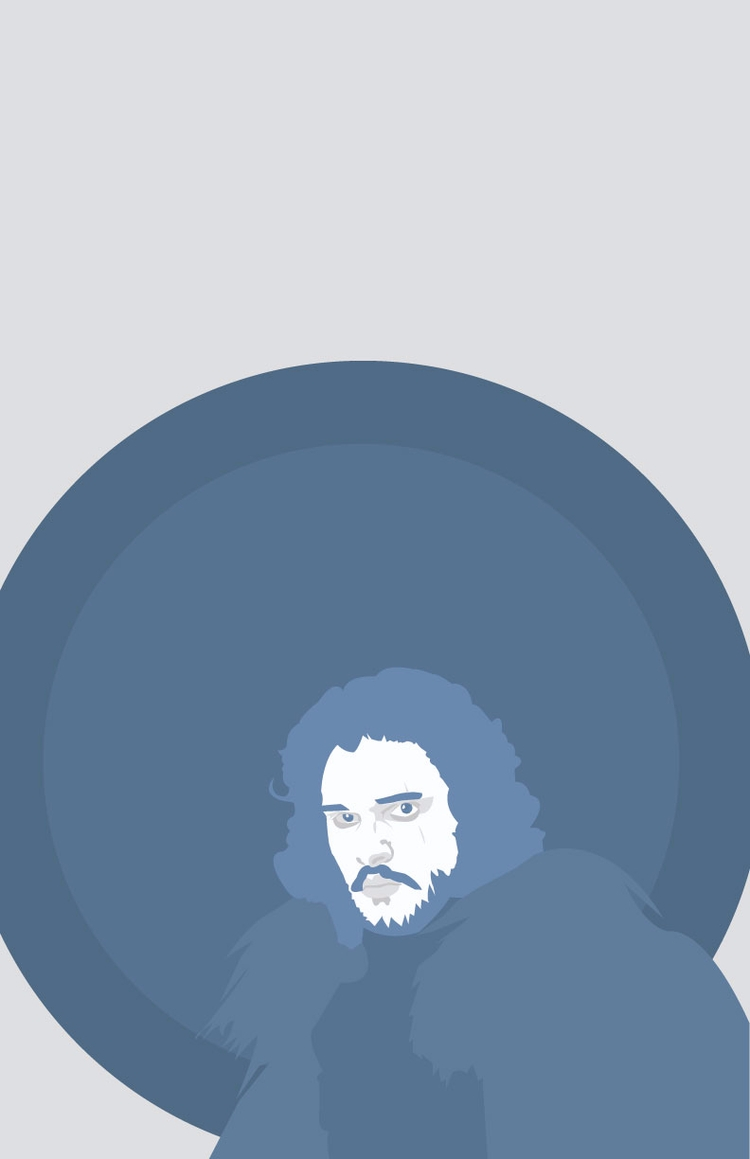 Vector Kit Harrington Jon Snow  - abracadabi | ello