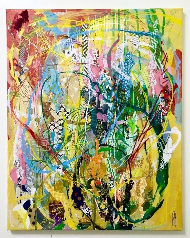 Torn side side - copio, art, artwork - copio | ello