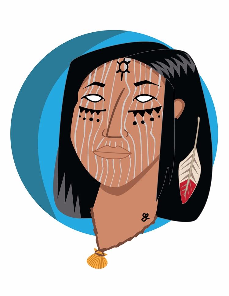 Native 2 - illustration, characterdesign - kumavilla | ello