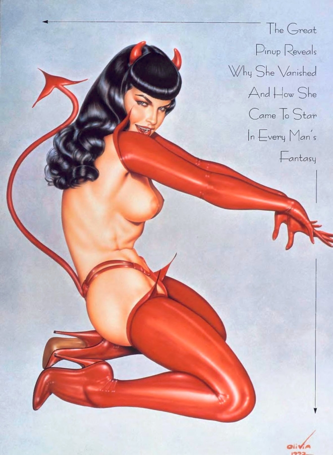 iconic Bettie Page Tribute Quee - playboycollection | ello