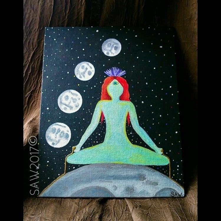 Lotus Moon SAW2017 piece SOLD,  - maryjaneinwonderland | ello
