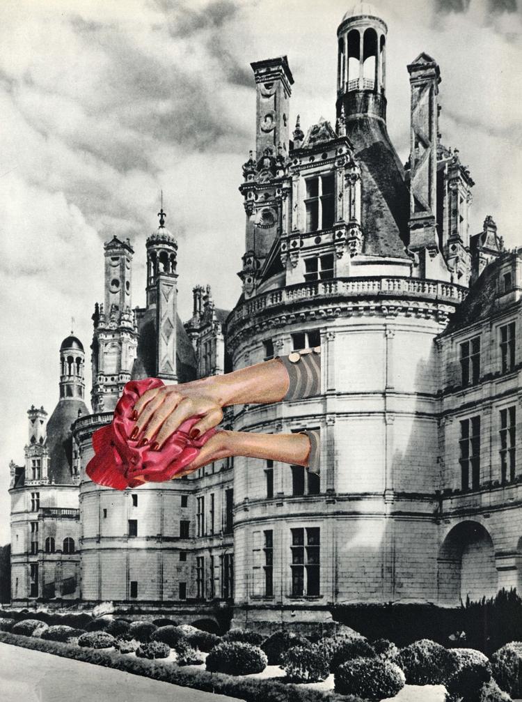 - 22,9x32,7 cm Paper collage - collageart - claire_martine_ | ello