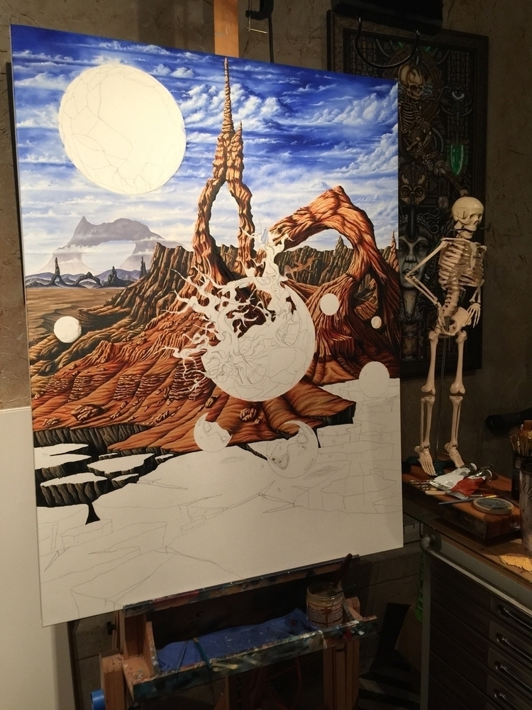 Progress current piece - ronfrisby | ello
