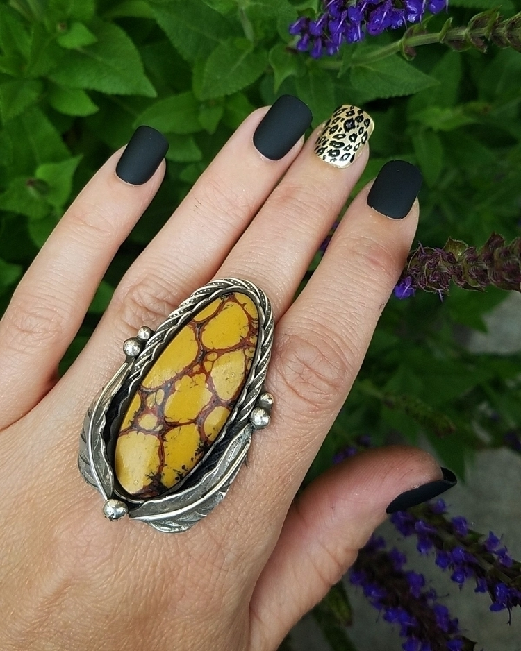ring ready size Yellow Mojave t - eclecticblingjewelry | ello