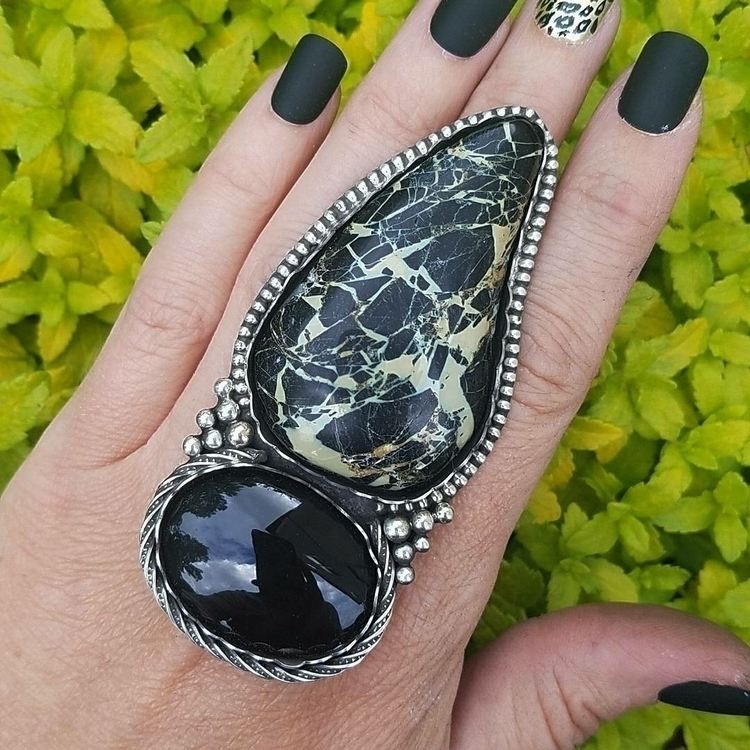 SOLDAvailable ring ready size!  - eclecticblingjewelry | ello