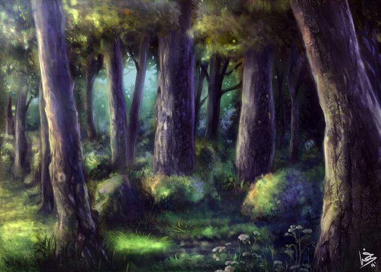 Grove - '14 Paint tool SAI - grove - malthus_wolf   ello
