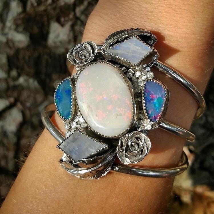 opal. custom cuff featured larg - newerajewels | ello
