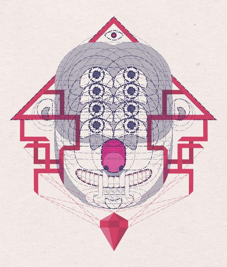 summon - illustration, artwork - krankcrabs | ello