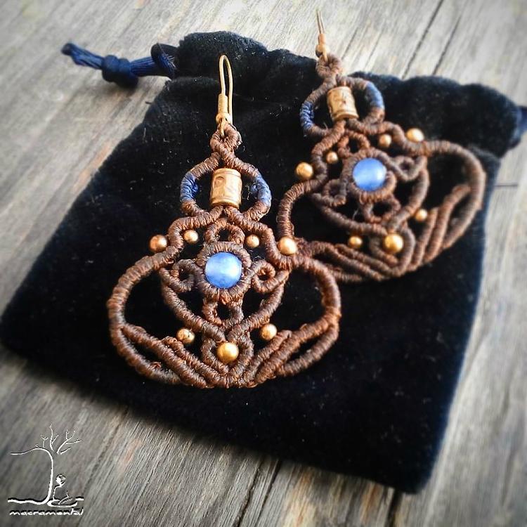 Hey guys!! beloved pair earring - macramental | ello