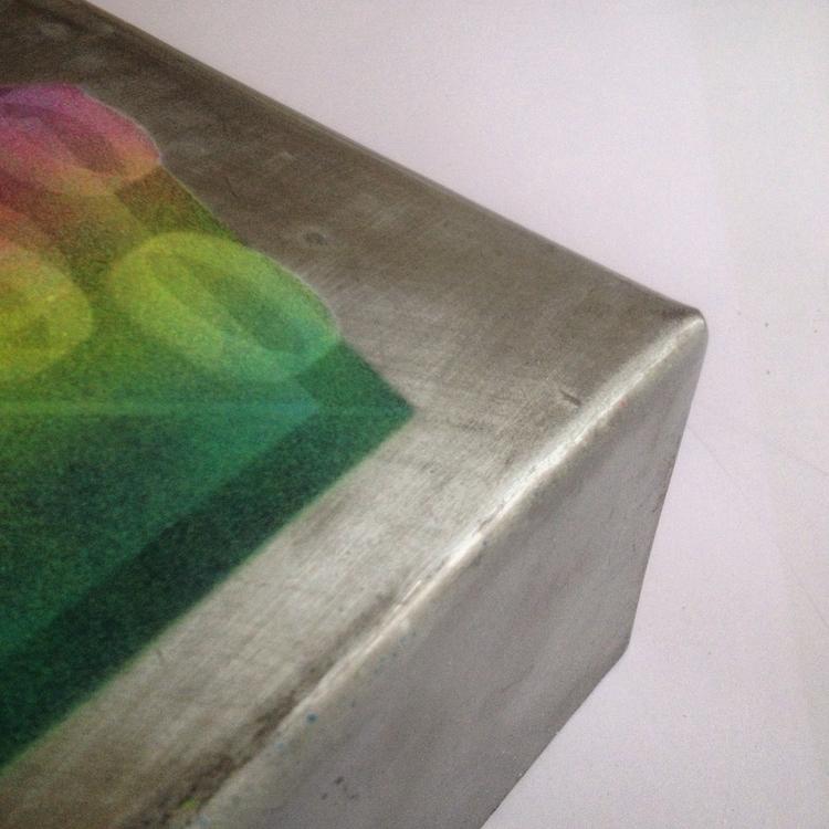 metal box skip.  - aerosol, painting - theyoung | ello