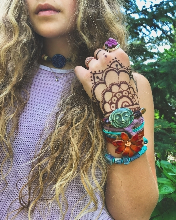 Ceramic clay wrap bracelet wear - zasra   ello