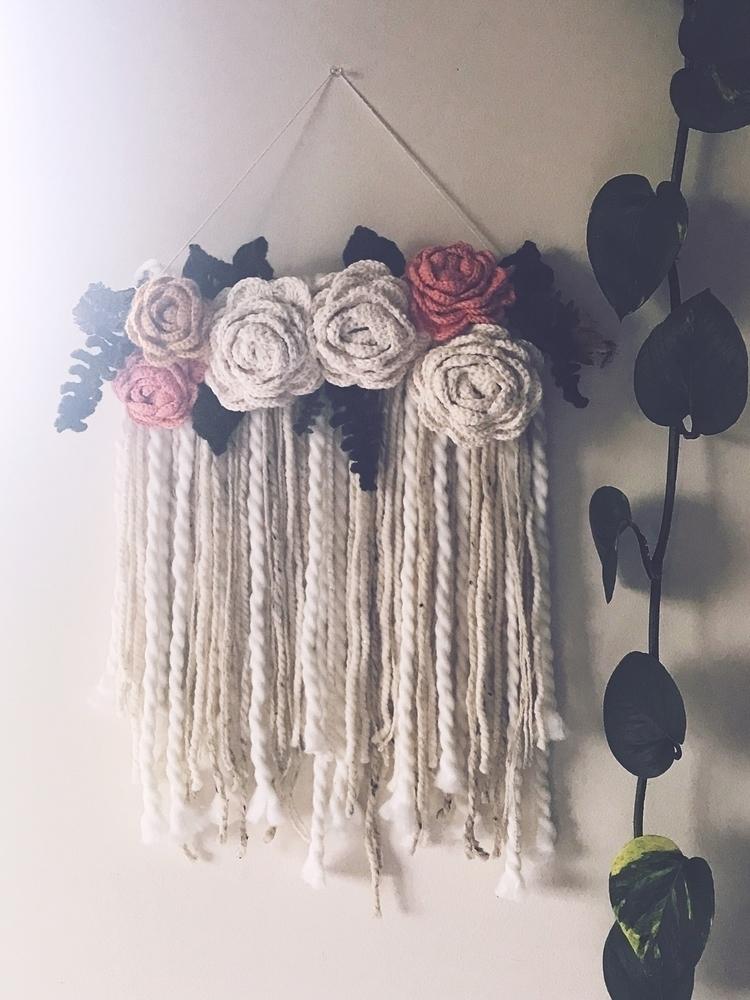 crochet wall hanging - wallhanging - hellolavender | ello