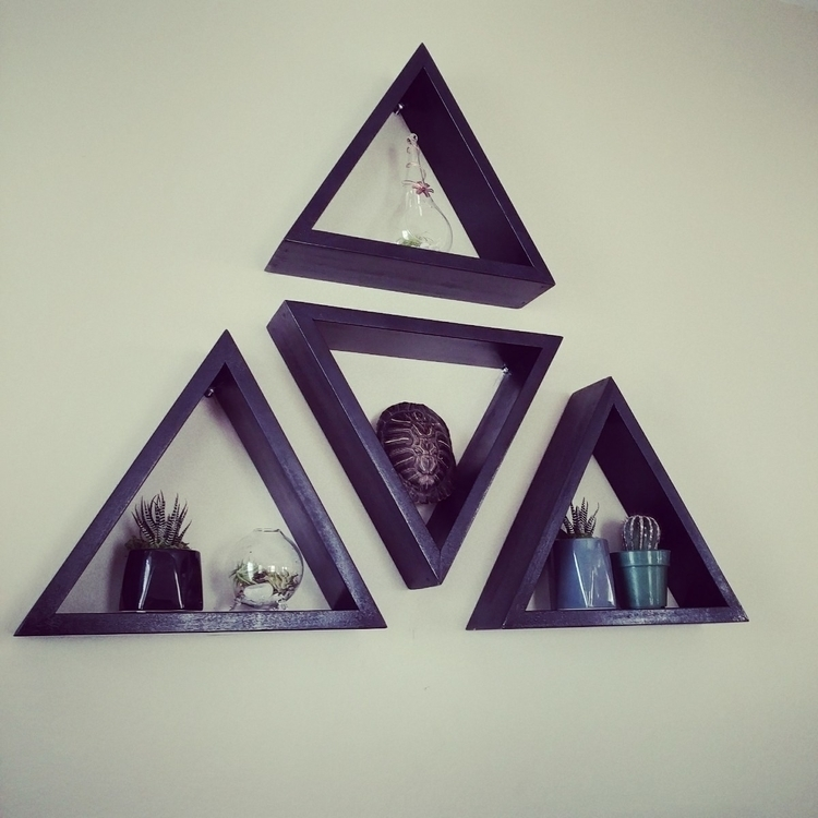 triangle shelves, older brother - actuallyhammed   ello